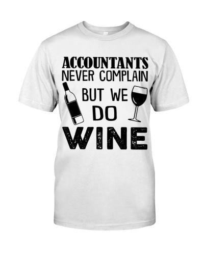 Accountants No Complain But We Wine