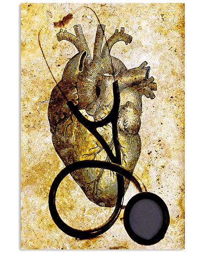 Cardiologist Heart And Stethoscope