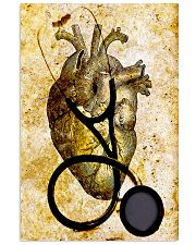 Cardiologist Heart And Stethoscope 11x17 Poster front