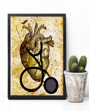 Cardiologist Heart And Stethoscope 11x17 Poster lifestyle-poster-8
