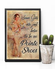 Ballet - Some girls are just born to be on pointe  11x17 Poster lifestyle-poster-8