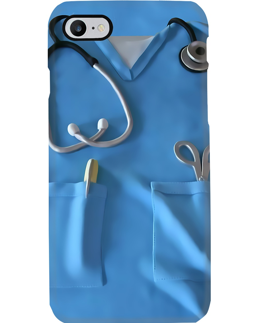 Respiratory Therapist Blue Scrubs Phone Case
