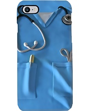 Respiratory Therapist Blue Scrubs Phone Case i-phone-7-case