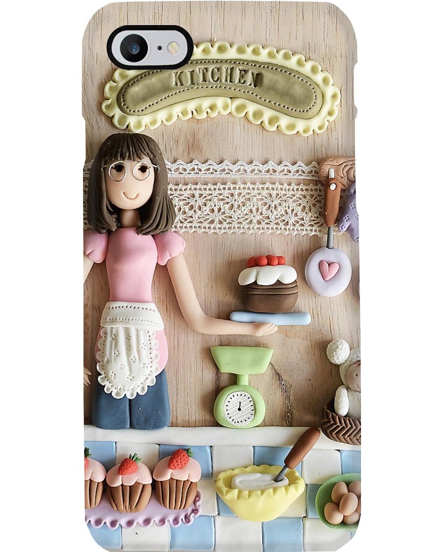 Baker Gift Baking Girl Phone Case