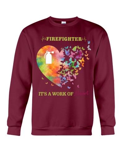 Firefighter It's A Work Of Heart