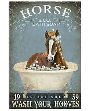 Horse Girl Horse Bath Soap Wash Your Hooves 11x17 Poster front