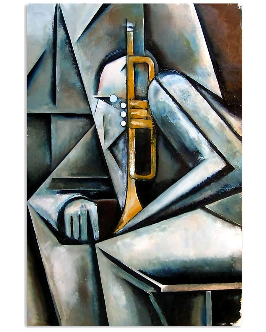 Trumpet Art 11x17 Poster