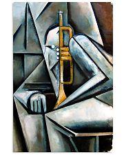 Trumpet Art 11x17 Poster front