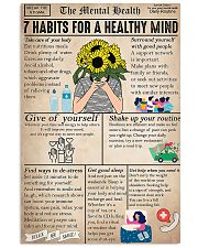 Social Worker The Mental Health 11x17 Poster front