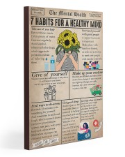 Social Worker The Mental Health 20x30 Gallery Wrapped Canvas Prints thumbnail