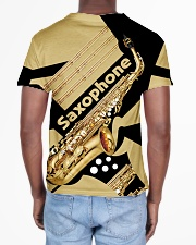 Saxophonist Gift Golden Saxophone  All-over T-Shirt aos-all-over-T-shirt-lifestyle-back-02