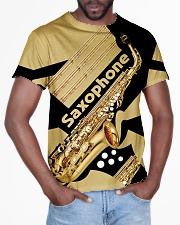 Saxophonist Gift Golden Saxophone  All-over T-Shirt aos-all-over-T-shirt-lifestyle-front-03