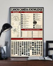 Photographer Canon Camera Knowledge 11x17 Poster lifestyle-poster-2