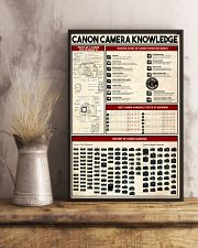 Photographer Canon Camera Knowledge 11x17 Poster lifestyle-poster-3