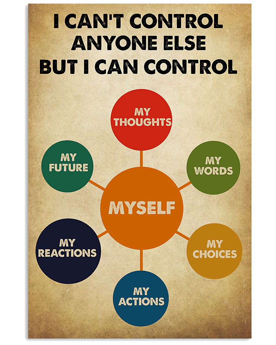 I Can Control Myself 11x17 Poster