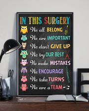 Surgeon We are important We don't give up 11x17 Poster lifestyle-poster-2