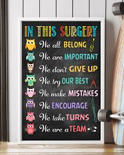 Surgeon We are important We don't give up 11x17 Poster lifestyle-poster-4