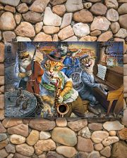 Saxophone Cat  17x11 Poster poster-landscape-17x11-lifestyle-15