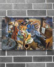 Saxophone Cat  17x11 Poster poster-landscape-17x11-lifestyle-18