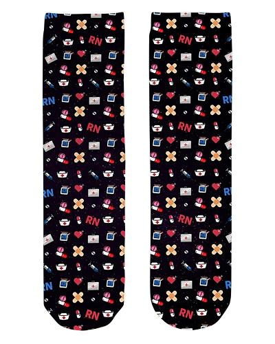 Nurse Black socks