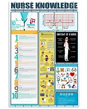 Nurse Knowledge  11x17 Poster front