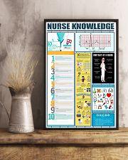 Nurse Knowledge  11x17 Poster lifestyle-poster-3