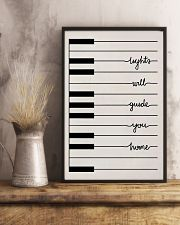 Pianist Light Will Guide You Home 11x17 Poster lifestyle-poster-3