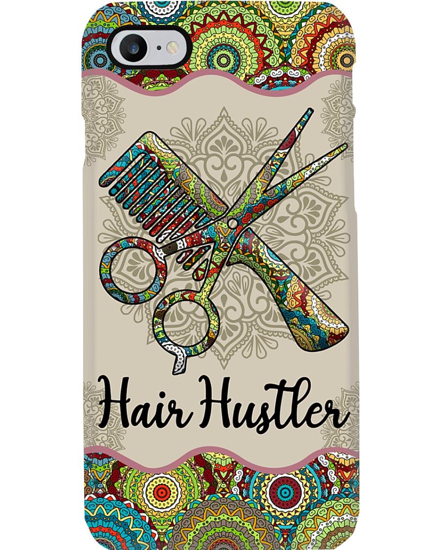 Hairdresser Hair Hustler Unique Pattern Phone Case
