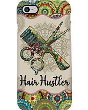 Hairdresser Hair Hustler Unique Pattern Phone Case i-phone-7-case