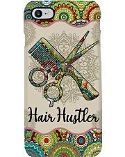 Hairdresser Hair Hustler Unique Pattern Phone Case i-phone-8-case