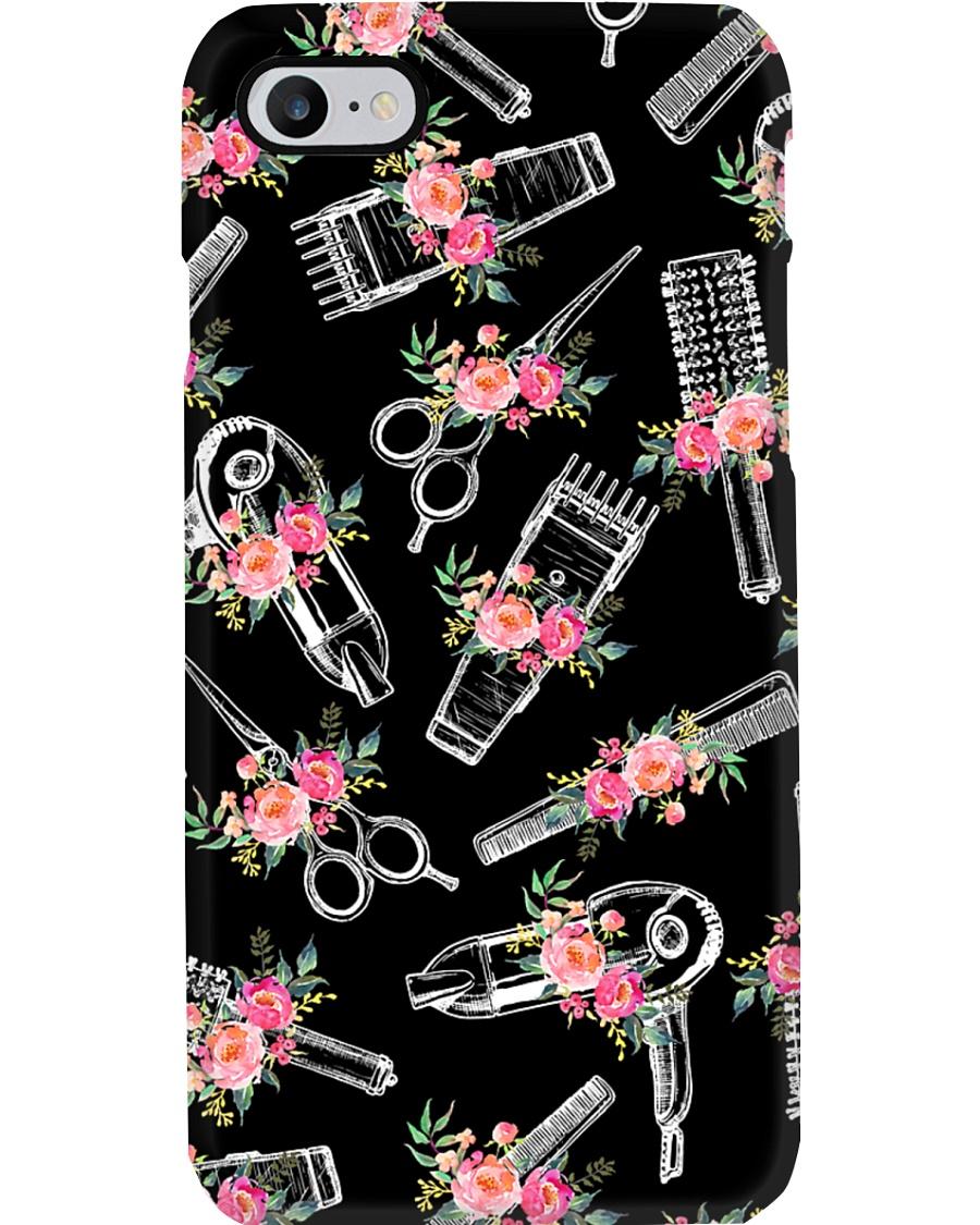 Color Flower Tools Hairdresser Phone Case