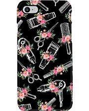 Color Flower Tools Hairdresser Phone Case i-phone-7-case
