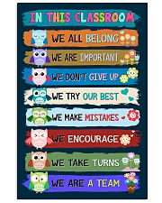 Teacher We Are A Team 11x17 Poster front