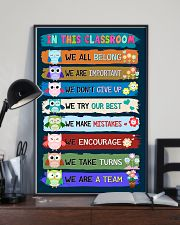 Teacher We Are A Team 11x17 Poster lifestyle-poster-2