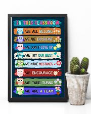 Teacher We Are A Team 11x17 Poster lifestyle-poster-8