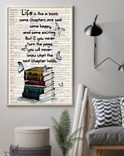 Life Is Like A Book 11x17 Poster lifestyle-poster-1