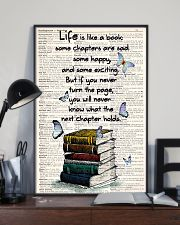 Life Is Like A Book 11x17 Poster lifestyle-poster-2