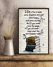 Life Is Like A Book 11x17 Poster lifestyle-poster-3