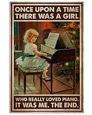 Piano Once Upon A Time Vertical Poster tile