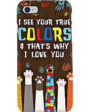 Autism Awareness I See Your True Colors Phone Case i-phone-8-case