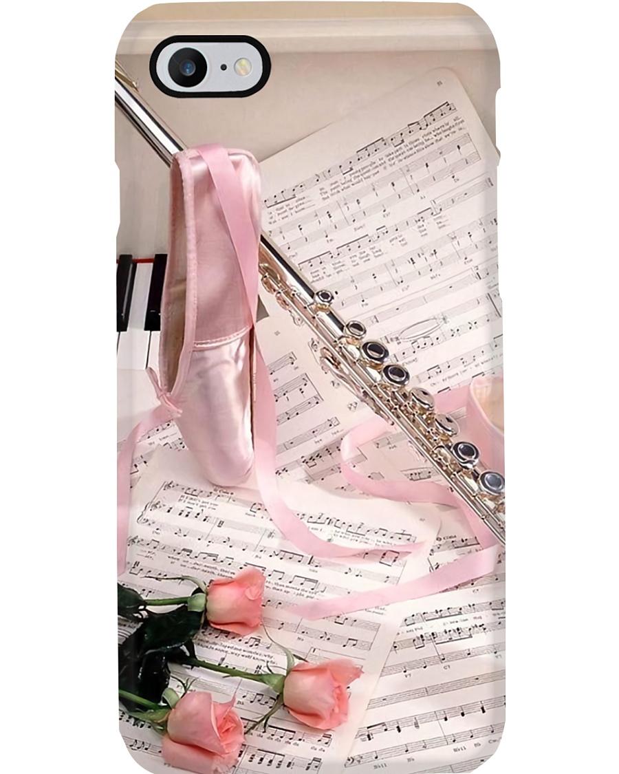 Flute Art Ballet Phone Case