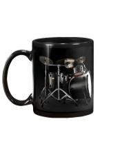 Drummer - Black Drum Set Mug back