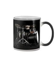 Drummer - Black Drum Set Color Changing Mug thumbnail