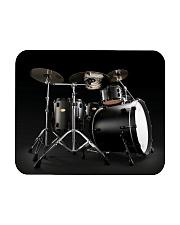 Drummer - Black Drum Set Mousepad thumbnail