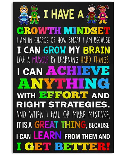 Teacher - I Have A Growth Mindset