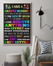 Teacher - I Have A Growth Mindset 11x17 Poster lifestyle-poster-1