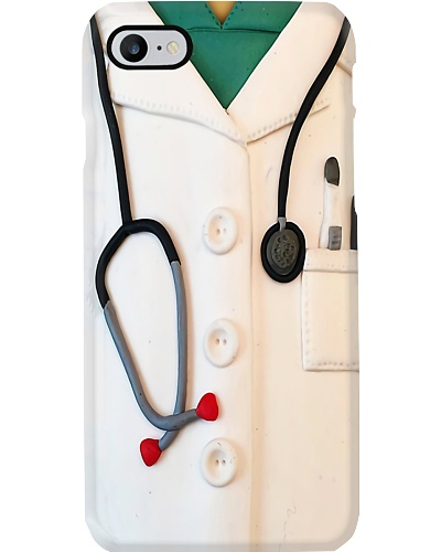 Respiratory Therapist White Uniform