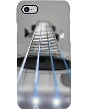 Bass Guitar Blue Light Strings Phone Case i-phone-7-case
