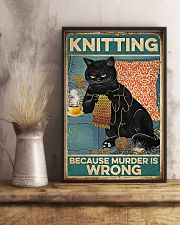 Crochet And Knitting - Murder Is Wrong 11x17 Poster lifestyle-poster-3