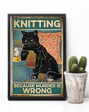 Crochet And Knitting - Murder Is Wrong 11x17 Poster lifestyle-poster-8